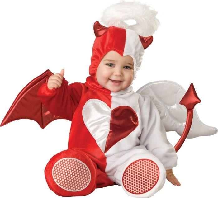 Ideen Fur Originelle Faschingskostume Engel Und Teufel In Einem Rot