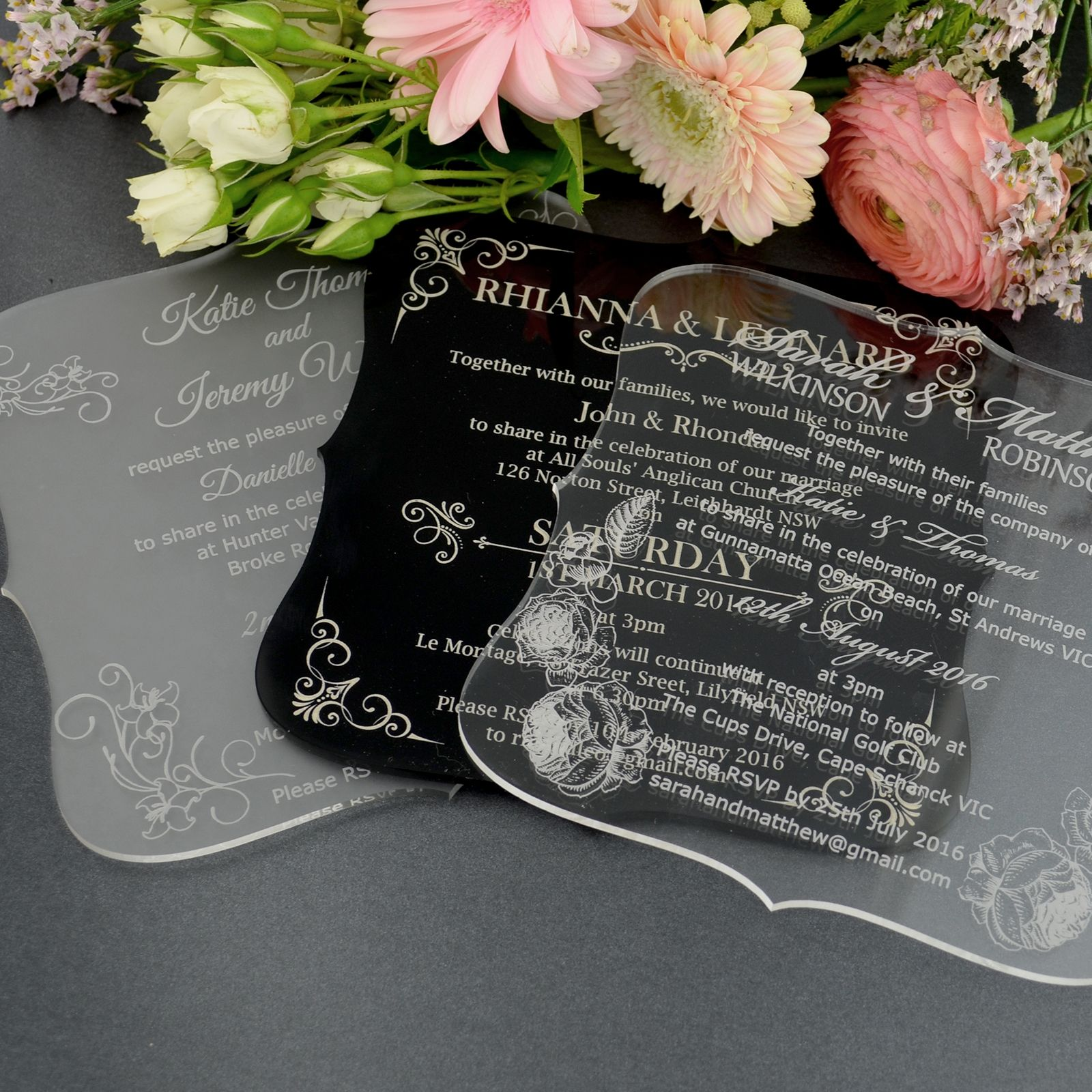 Engraved Wedding Invitations Online – Traditional Engraved Wedding Invitations