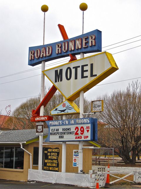 Road Runner Cafe New Mexico
