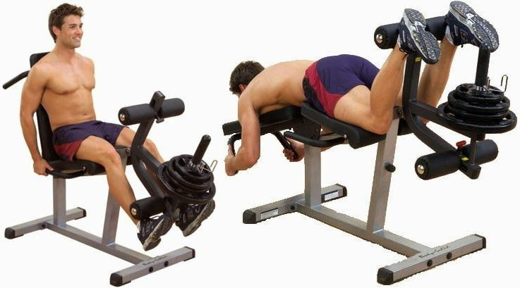 Leg Extension and Leg Curl for Fitness | Leg Curl Machine ...