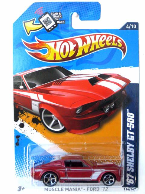 2012 Hot Wheels 67 Shelby Gt 500 Kmart Exclusive Shelby Gt Hot Wheels Hot Wheels Cars