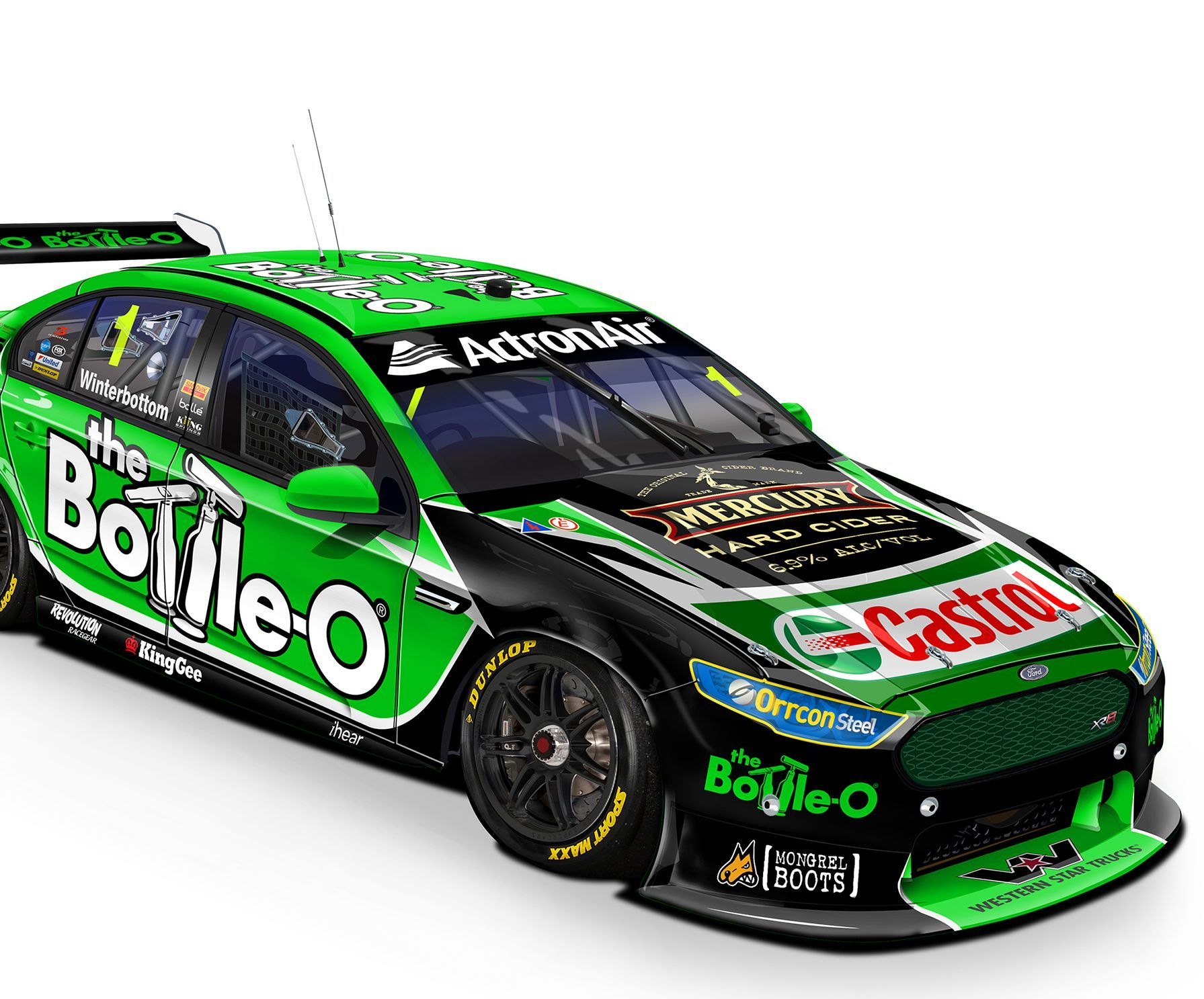 Information on Virgin Australia Supercars Championship competitor ...