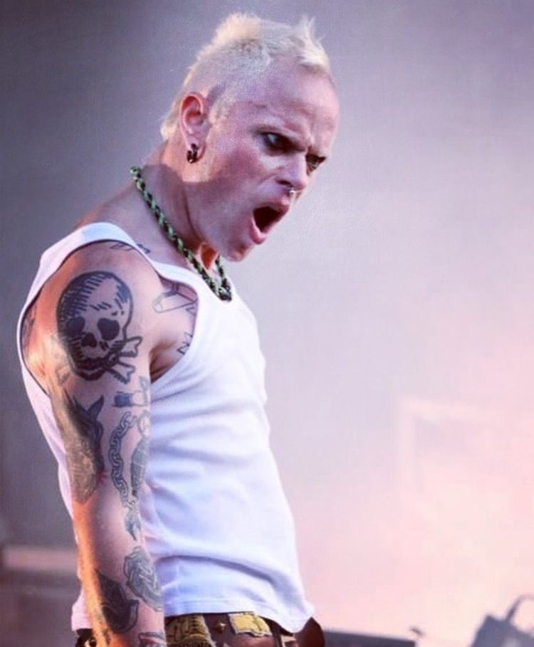 Keith flint prodigy love you live with images prodigy