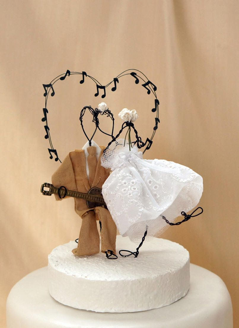 Your Place To Buy And Sell All Things Handmade Wedding Cake Toppers Unique Music Wedding Cakes Wedding Cake Toppers