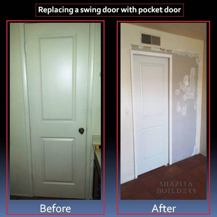 Replacing A Swing Door With A Pocket Door Pocket Door Frame