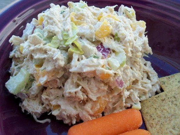 Copycat Of Arbys Chicken Salad Sandwich Recipe Main Meal