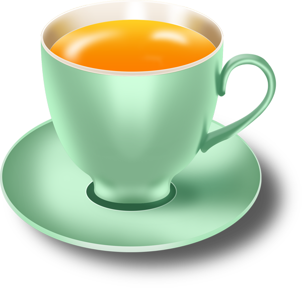 Glossy Mint Tea Cups And Saucers In Psd Graphicsfuel Tea Cups Mint Tea Green Tea Cups