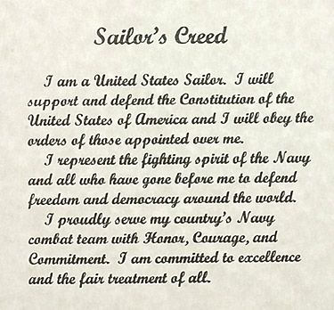 sailors creed tm53 navy flag sailors creed collection