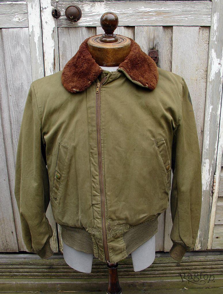 B15 Vintage Outfits Flight Jacket Flying Jacket [ 1024 x 775 Pixel ]