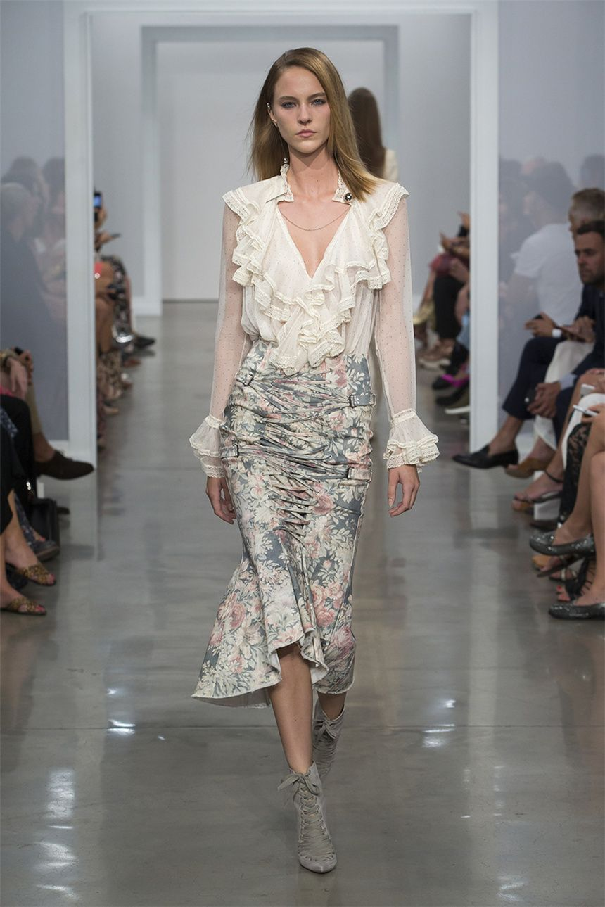 Zimmermann Spring/Summer 2017 Runway show | New York Fashion Week  zhiboxs.com