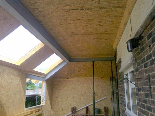 SIPs Wall and Roof Extension