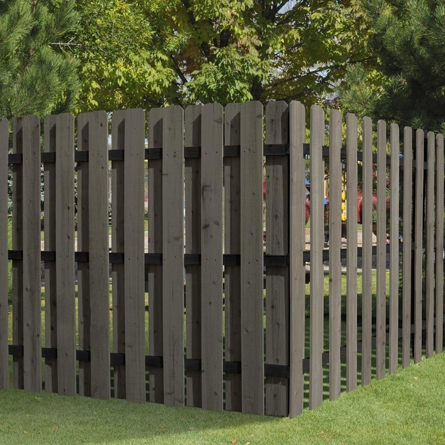 Shadowbox 6ft Dog Ear Picket Diy Garden Fence Fence Planning