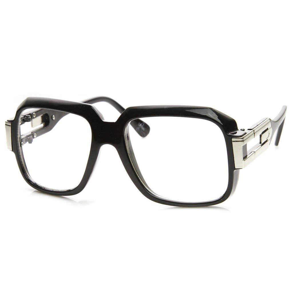 144f689e197 Retro Euro Square Hip Hop 80 s Fashion Clear Lens Glasses 8901 ...