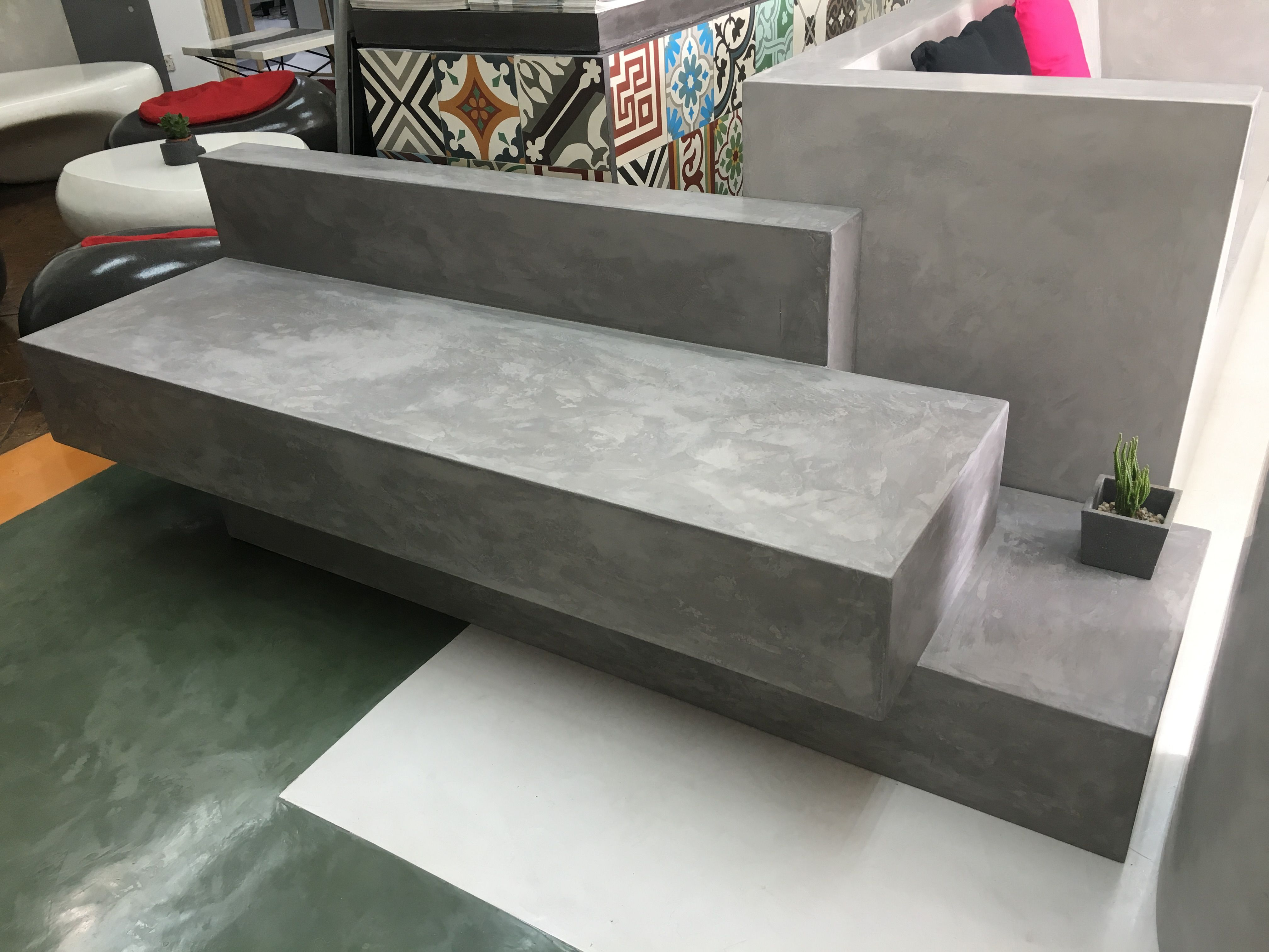 Bench Seater Cement Furniture Malaysia Cement Furniture Cement Bench Furniture