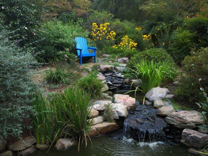 teich bepflanzen schön aussehende wasserpflanzen für teich Pool - gartenteich bilder beispiele