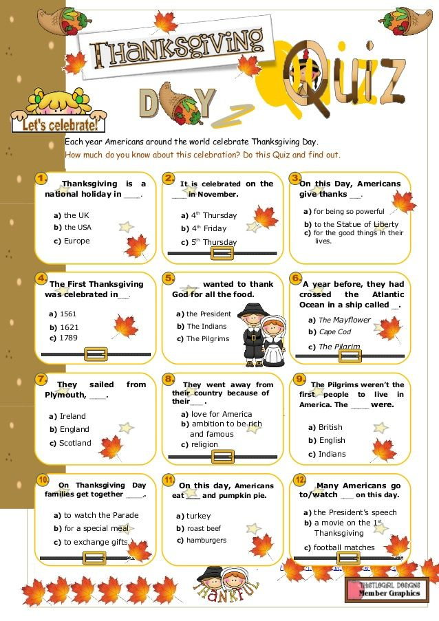 Happy Thanksgiving Trivia 2018 - Thanksgiving Trivia Question & Answer #happythanksgiving
