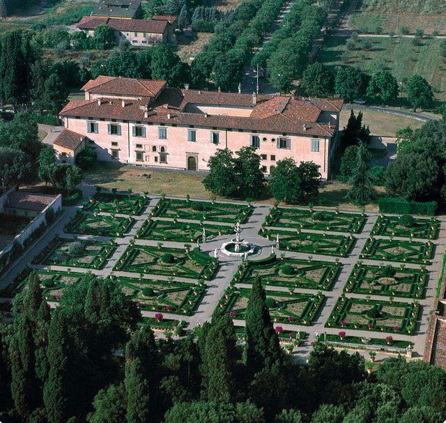 villa medicea di castello firenze firenze florence italy tuscany rh pinterest com
