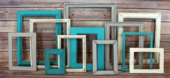 Farmhouse Decor, Fixer Upper, Rustic Home Decor, Picture Frame Set