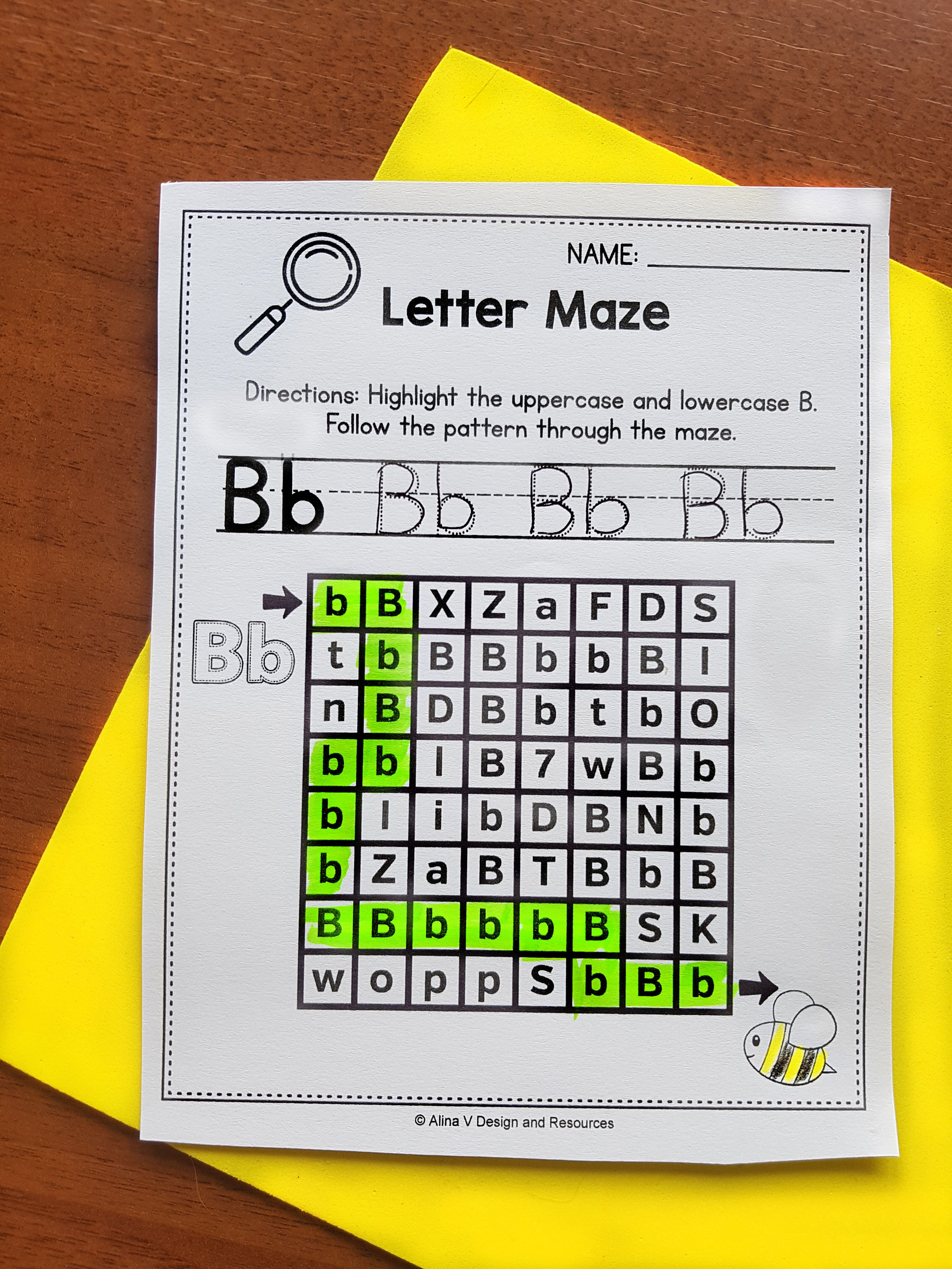 Handwriting Practice With Letter Formation Letter