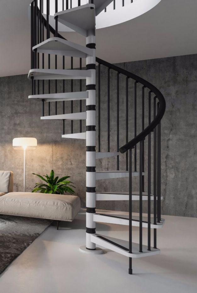 Best Misterstep Gamia Metal Spiral Staircase Kit Loft Centre 400 x 300