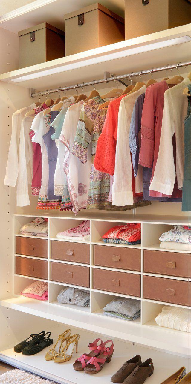 Cambio de armario guarda la ropa de invierno ropa de - Armario ropa blanca ...