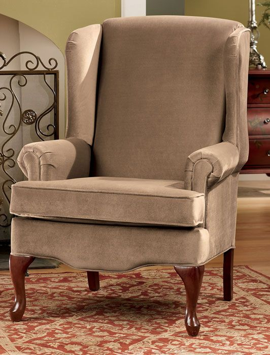 Buckingham Mocha Queen Anne Chair | home style | Pinterest | Queen ...