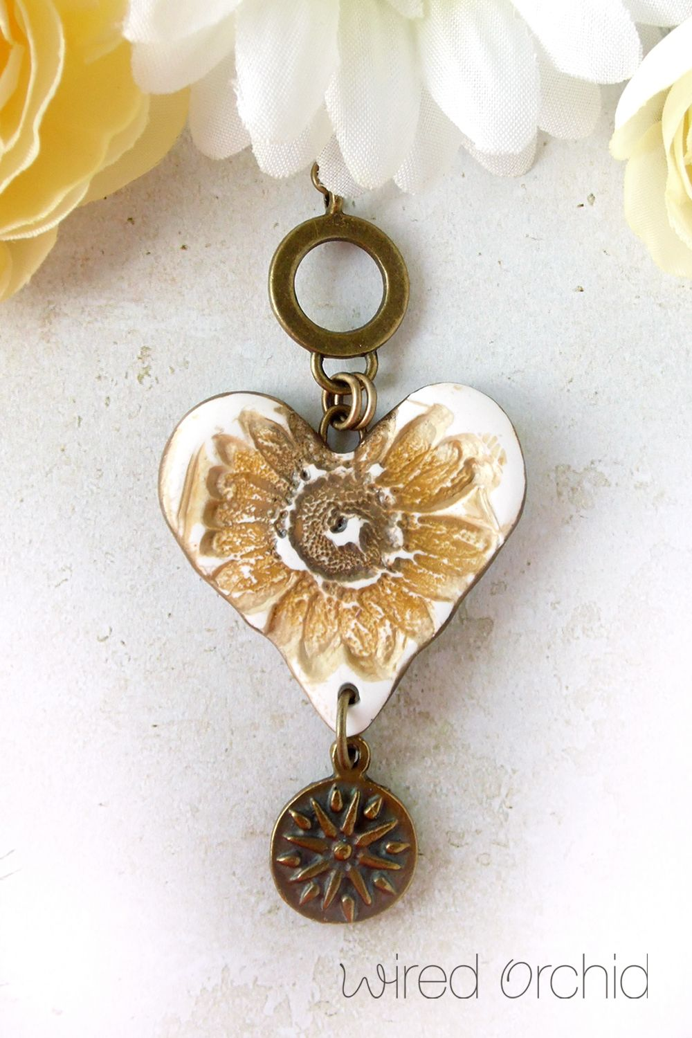 42 Hearts Make Me Happy This Valentine S Day Make Her Happy By Adding A Piece Of Boho Whimsy To Her Wardrobe In 2020 Casual Jewelry Orchid Jewelry Orchid Necklace