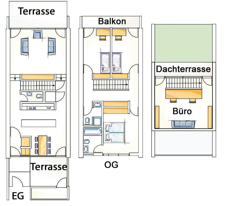 Holzhaus Reihenhaus Grundriss Haus grundriss, Wohnen luxus