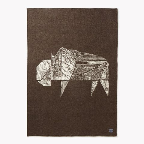The days are starting to get  shorter, wrap yourself up in the Faribault Bison Jacquard Wool Throw.  Available here -> http://ampersandshops.co/g5