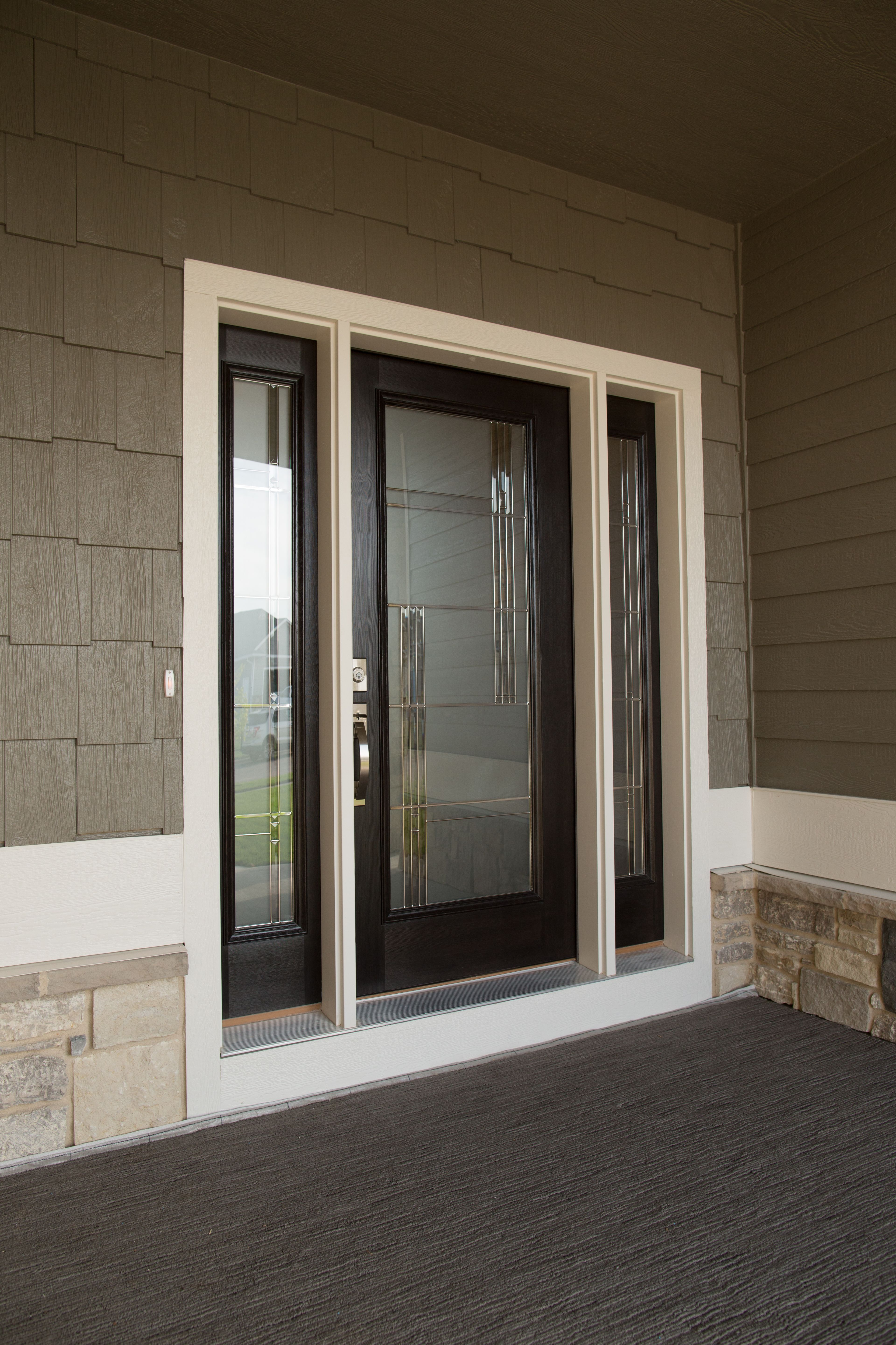 Exterior Doors A Classy Entry For A Classy Family This Is A