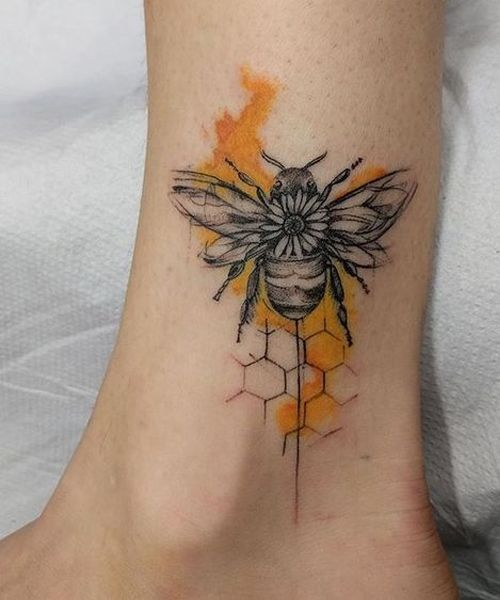 Beekeeping Tattoo: Image Result For Honey Bee Tattoo