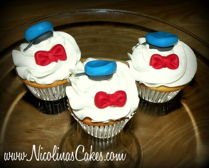 Donald Duck 1 Dozen Cupcake Toppers
