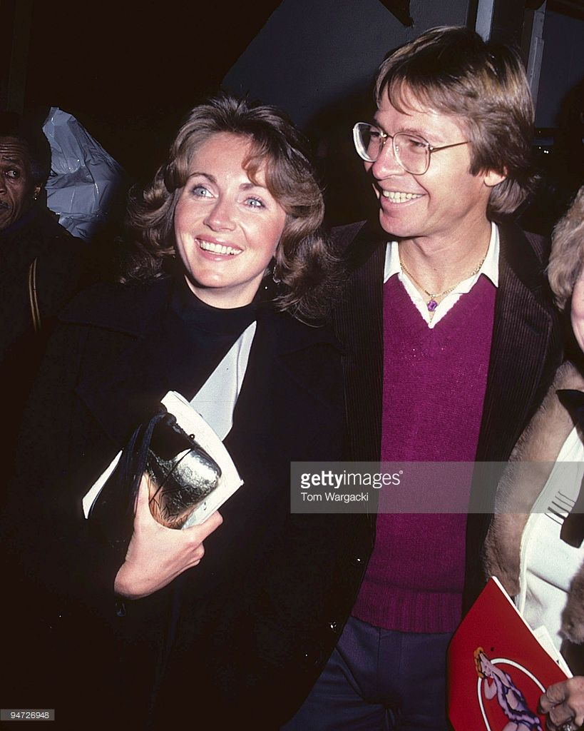 new york december 1980 john denver and wife annie at winter