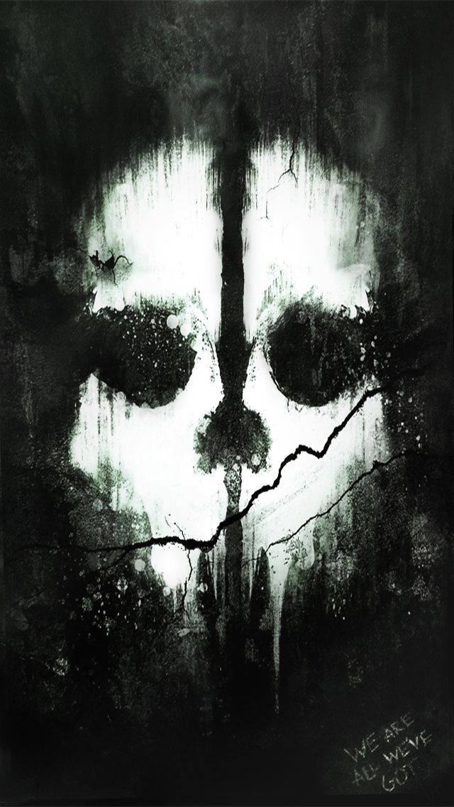 Call Of Duty Ghost Iphone Wallpaper Background コール オブ