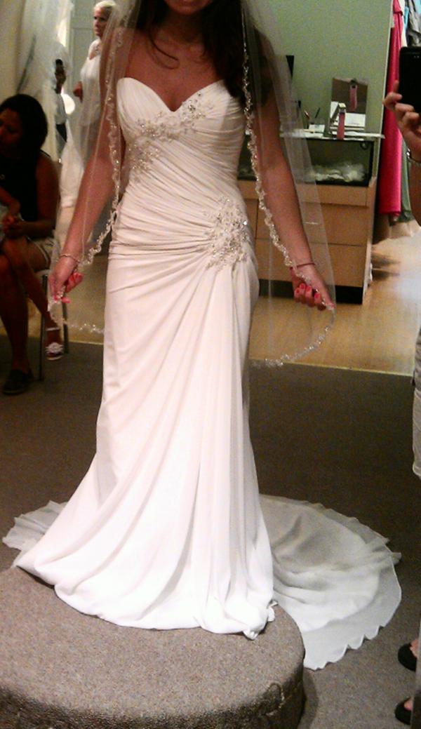 Petite wedding dresses on pinterest petite wedding gowns for Wedding dresses for short women