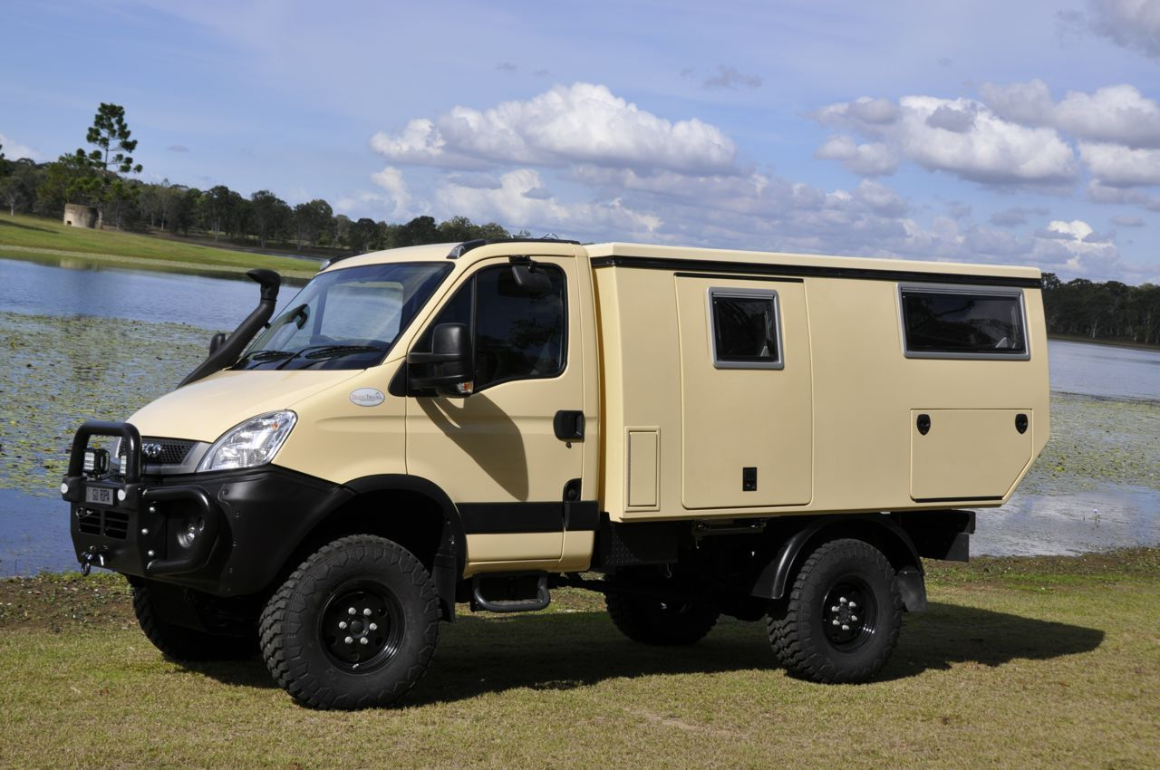 the scrubmaster expedition takes all the advantages of the standard iveco 4x4 and adds the. Black Bedroom Furniture Sets. Home Design Ideas