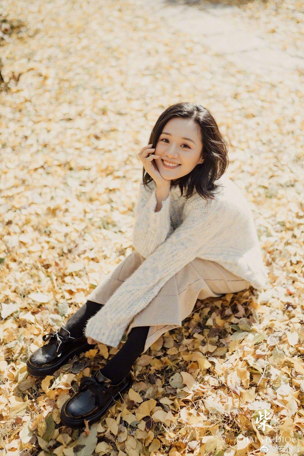 Zhang Tianai poses for photo shoot   China Entertainment