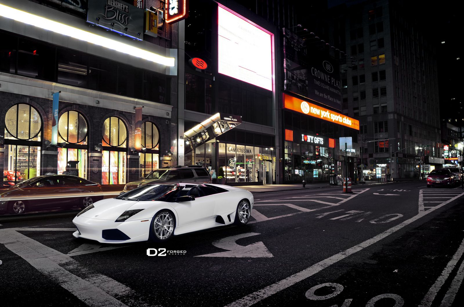 Superior Epicenter Of Things In The Big Apple And Our Lamborghini Murcielago