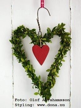 Photo of Greenery Valentine's Wreath
