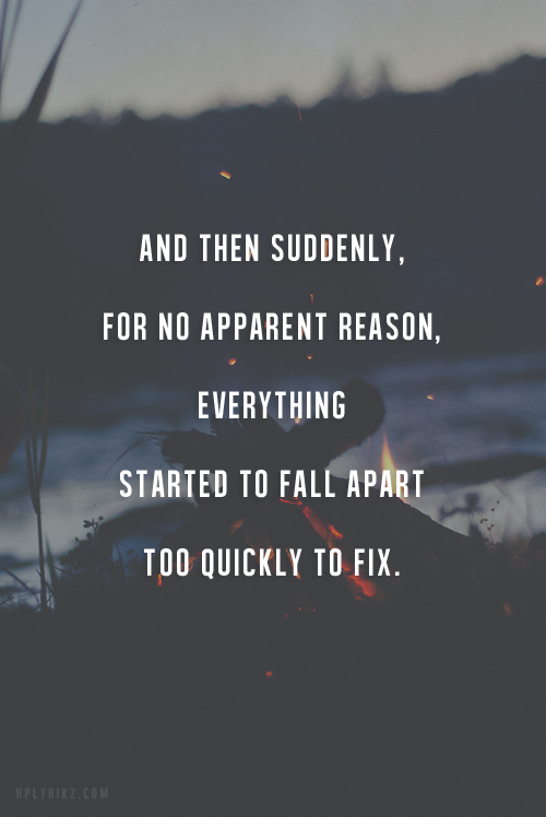 Messed Up Heart Quotes: Right Now In Just Think This Is True! I've Lost Someone