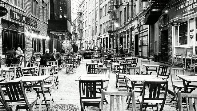 EMPTY CHAIRS AT EMPTY TABLES (Month of Song)