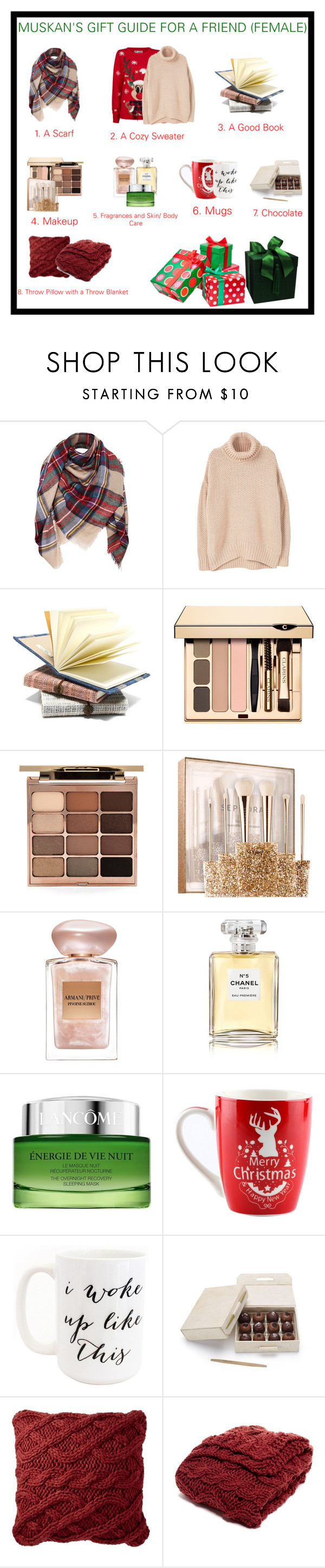 """""""Hope it helps!"""" by nagra-muskan ❤ liked on Polyvore featuring MANGO, Stila, Sephora Collection, Giorgio Armani, Chanel, Lancôme, Moon and Lola and Nordstrom"""