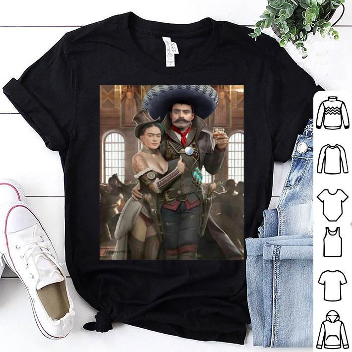 Frida Kahlo Emiliano Zapata Mexican Cantina Shirt new ideas