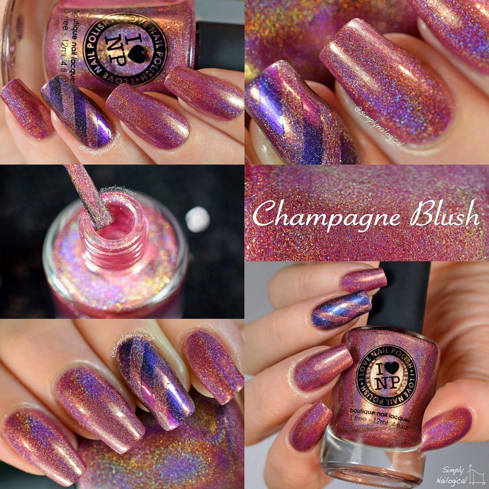 I Love Nail Polish (ILNP): Champagne Blush swatch
