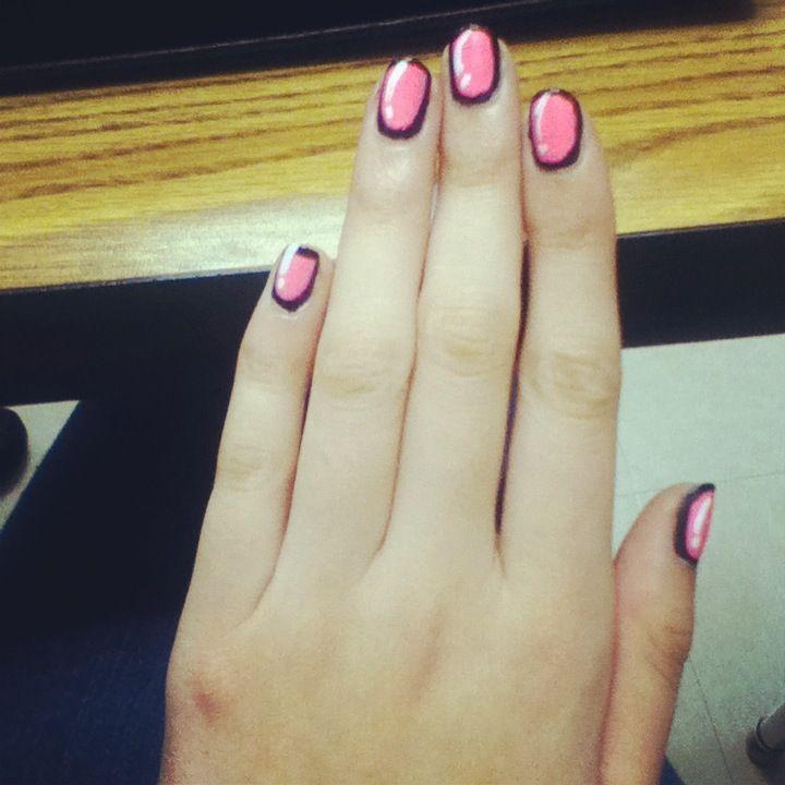 Anime nails anime nails manicure nail art