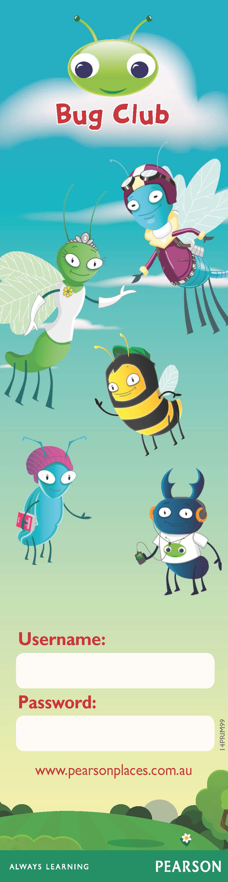 Print Out Bookmarks For All Your Bug Clubbers So They Don T Forget