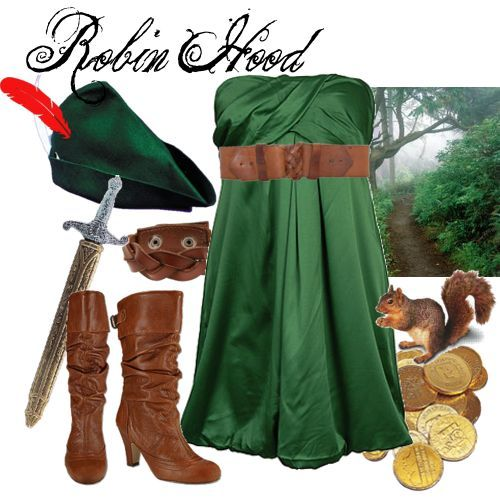 Robin Hood- Easy halloween costume! With stuff already in your - halloween costume ideas from your closet