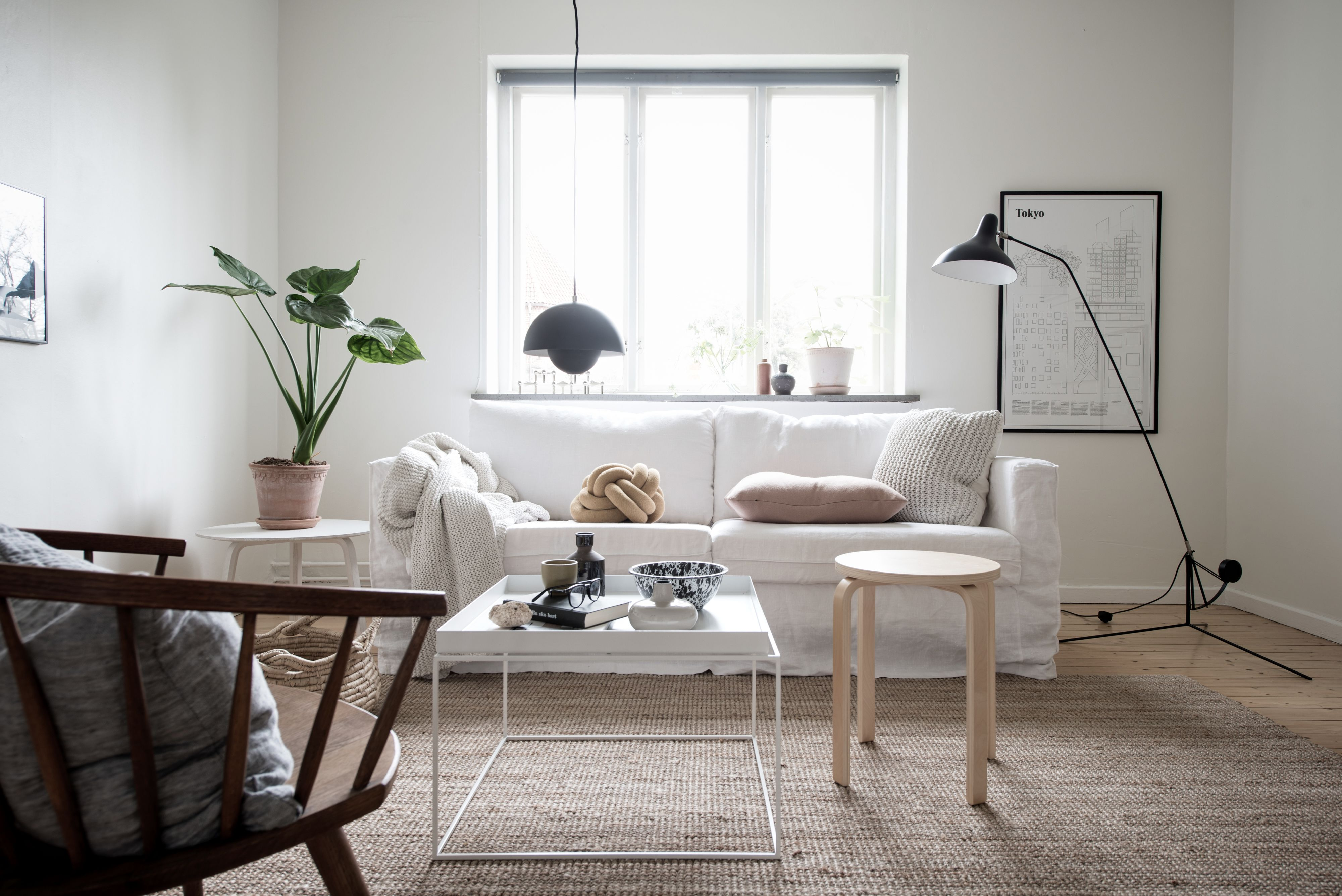 Stunning Living Room Styled By Emma Fischer White And Bright  # Muebles Fischer