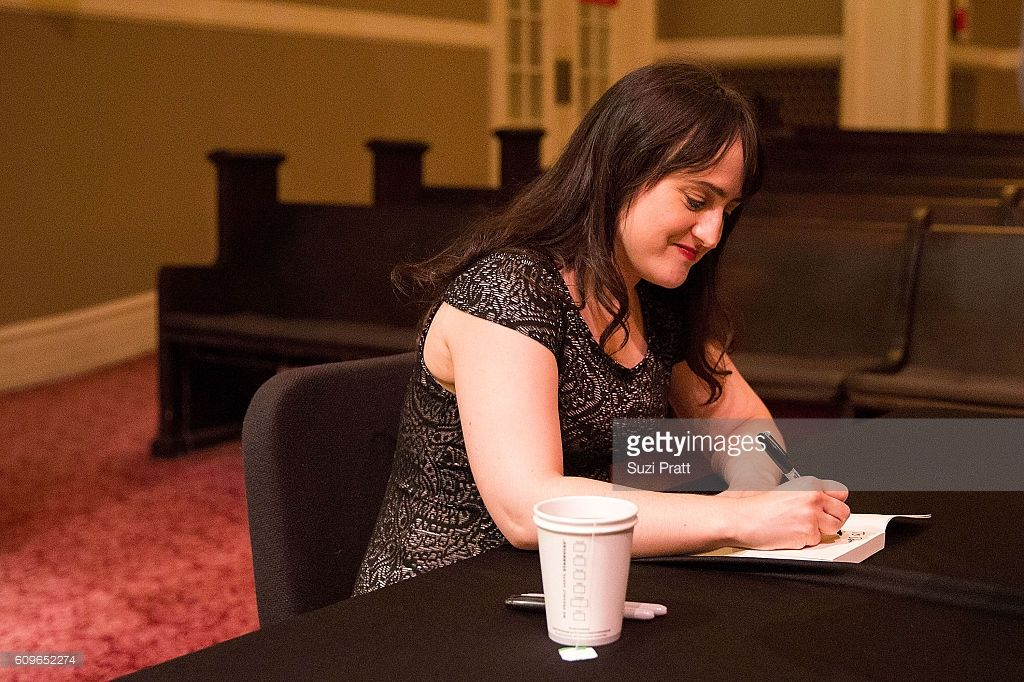 Actress And Writer Mara Wilson Signs Copies Of Her New Book At Town Hall Seattle On September 21 2016 In Seattle Washington Mara Wilson New Books Actresses