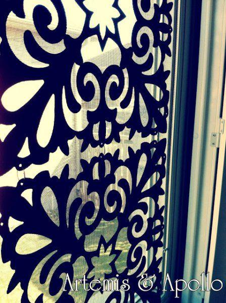 25 Diy Window Coverings Remodelaholic Diy Window Screen Diy Window Window Film Diy